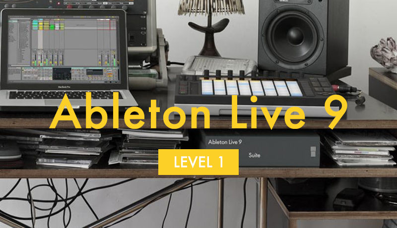 Ableton Live 9 Beginner Video Tutorial Level 1 | Tutorial 1