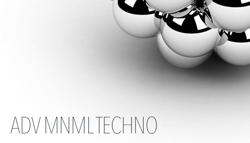 Adv mnml techno site