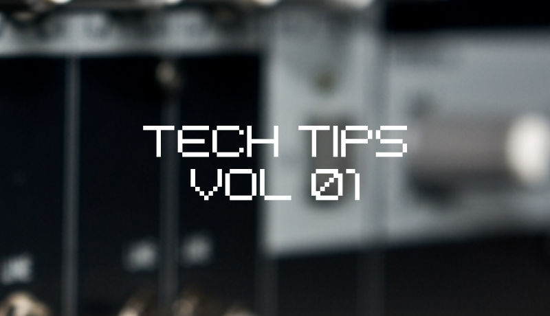 Tech Tips Volume 1 - Producer Tips & Tricks taught by Industry