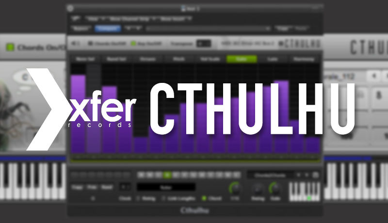 How To Use Cthulhu with Synth Hacker | Tutorial 01 - The Chord Section