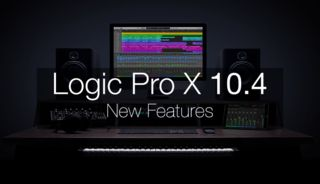 Logic pro 10.4 new features