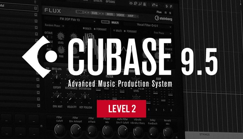 Htu cubase 9.5 level 2