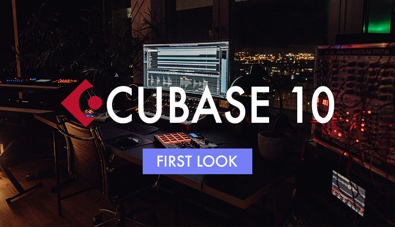 Cubase 10 first look 1