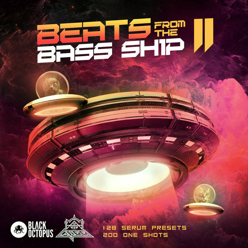 184 beats from the bass ship 2   main cover 800 x 800