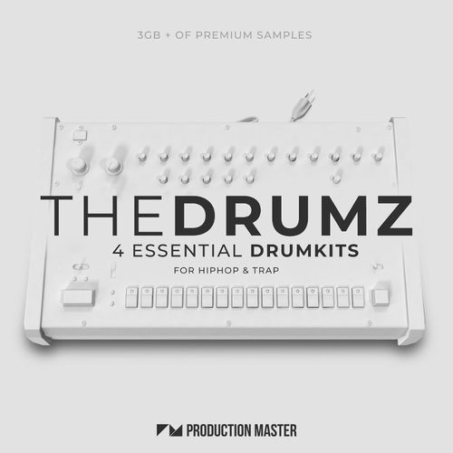 1031 production master   the drumz   essential drumkits for hip hop   trap   cover 800x800
