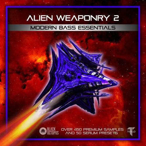 1117 alien weaponry 2   modern bass essentials artwork 800x800