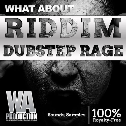 1598 800x800w. a. production   what about riddim dubstep rage artwork