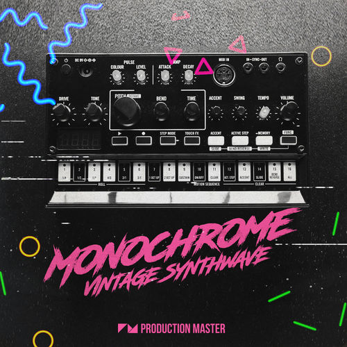 1609 production master   monochrome   vintage synthwave   800