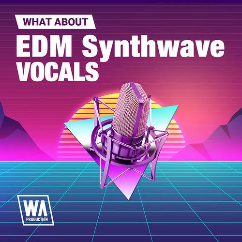 1654 800x800w. a. production   edm synthwave vocals artwork