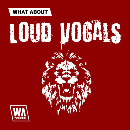 1788 800x800w. a. production   what about loud vocals artwork