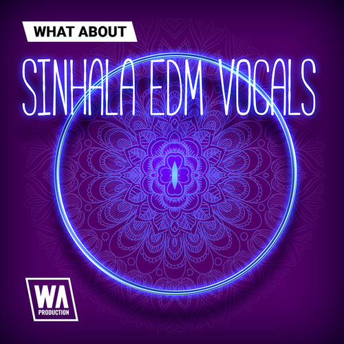 1921 800x800w. a. production   what about sinhala edm vocals artwork