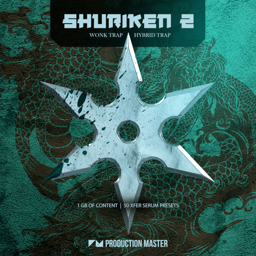 1996 production master   shuriken 2   wonk   hybrid trap   800