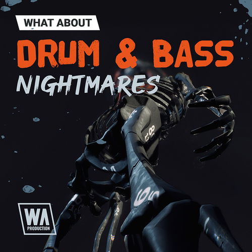 2025 800x800w. a. production   what about drum   bass nightmares artwork
