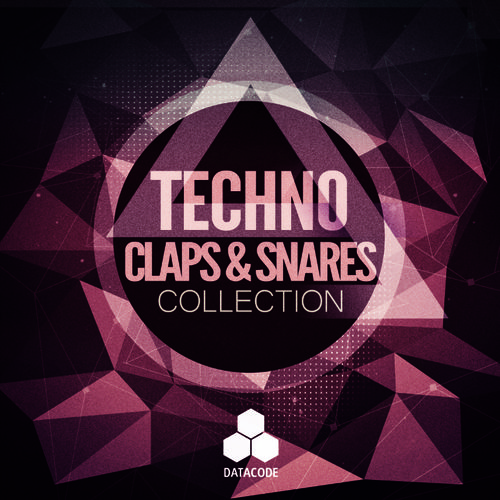 254 datacode   focus techno claps   snares collection   artwork 800px