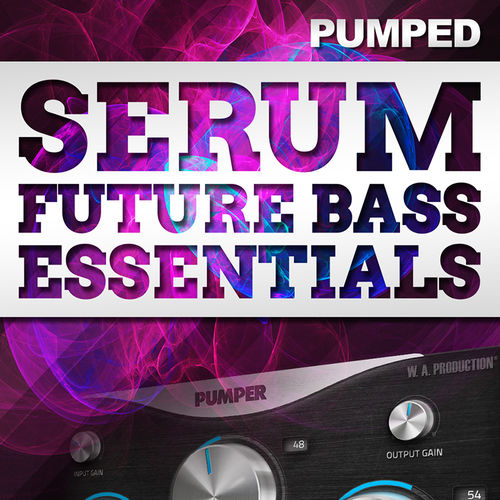 500 800x800big edm x w. a. production   serum future bass essentials cover