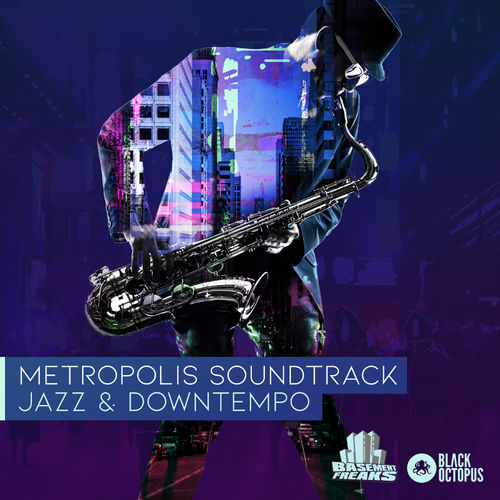 838 metropolis soundtrack   artwork   with logo 800x800