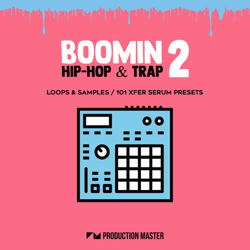 906 boomin hip hop   trap 2   cover 800x800