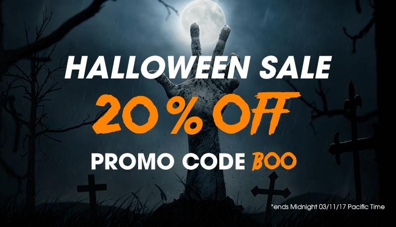 Halloween sale 2017