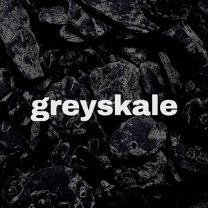 Greyskale logo black