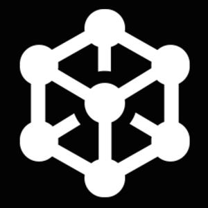 Empirian logo white on black